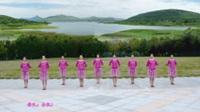 合肥果果(云之队)广场舞《你是我肩边的白云》表演 团队版