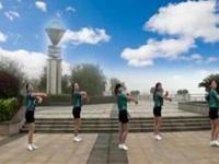 抚州左岸风情广场舞《C哩C哩》原创舞蹈 附正背面口令分解动作教学演示