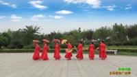 陕西华阴美朝阳舞蹈队广场舞 和谐中国 表演 团队版