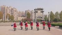 安徽池州舞心飞扬广场舞《最美最美》原创舞蹈 表演 团队版