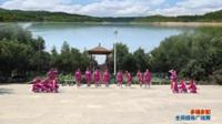陕西华阴罗敷横上村三凤舞蹈队广场舞 多嘎多耶 表演 团队版