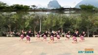 陕西华阴罗敷横上村三凤舞蹈队广场舞 【雪山姑娘】 表演 团队版