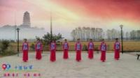 江西芳妃广场舞队广场舞《十送红军》原创舞蹈 正背表演 团队版