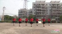 武汉黄陂盘龙城黄花捞舞蹈队广场舞《一路有爱》表演 团队版
