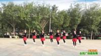 陕西华阴罗敷台头老年舞蹈队广场舞 【爱情快递】 表演 团队版