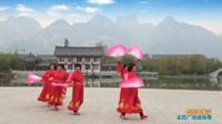 陕西华阴欣悦舞蹈队广场舞 【红歌中国行】 表演 团队版