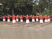 新泰市铭星艺术团广场舞《美丽中国》原创舞蹈 表演 团队版