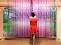杨桥天真姐妹广场舞《天在下雨我在想你》原创舞蹈 附正背面演示及口令教学