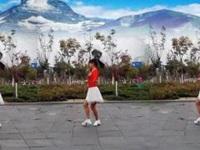 鄂州益馨广场舞《爱情就像一首歌》原创简单入门16步 口令分解动作教学演示