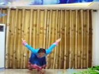 三里舞姿广场舞《爱的部落》编舞応子 个人正背面演示