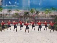 西安亲青毛妹广场舞《美美哒》原创舞蹈 正背演示 团队版