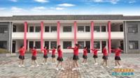 陕西华阴罗敷桥营舞蹈队广场舞 【你不来我不老】 表演 团队版