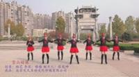 安徽池州明天会更好舞队广场舞《雪山姑娘》原创舞蹈 表演 团队版