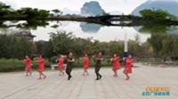 陕西华阴十冶舞蹈队广场舞 【多情的萨日朗】 表演 团队版