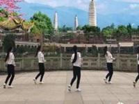 新风尚广场舞《Japanese Girl》原创排舞 正背面口令分解动作教学演示