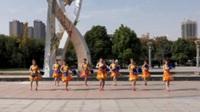 郑州南区香香舞蹈队广场舞 跳到北京 表演 团队版
