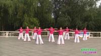 郑州市高新区玫瑰金舞蹈7队广场舞 爱我就把我追求 表演 团队版