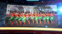 北京兰梅舞韵舞蹈队广场舞 天边的情歌(背身) 表演 团队版