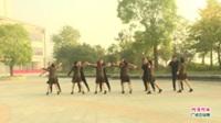 河南省信阳市潢川县大众交易舞蹈队广场舞  阿哥阿妹 表演 团队版