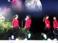 阿楠广场舞《情路弯弯》原创24步鬼步舞 附正背面口令分解教学演示