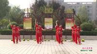 河南省周口市沈丘县荣娟广场舞  北江美串烧 表演 团队版