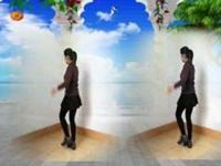 山东梁山秋香广场舞《这一生回忆有你就足够》原创32步 正背面教学演示