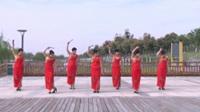 宿州春光社区旗袍协会广场舞 水乡温柔 表演 团队版