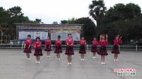 河南省信阳市商城县满天星舞蹈队广场舞  又见两只蝴蝶飞 表演 团队版