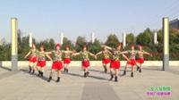 新乡县快乐姐妹舞蹈队广场舞 女人没有错 表演 团队版