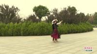 河南省信阳市体育舞蹈协会广场舞   涛声依旧 表演 团队版