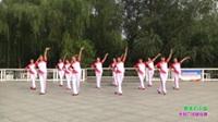 郑州市开心快乐舞蹈队广场舞 最美的中国 表演 团队版