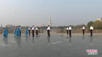 河南省周口市北京平四舞蹈队广场舞  中国歌最美 表演 团队版