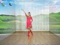 杏儿广场舞《蓝色天梦》原创舞蹈 正背面教学演示