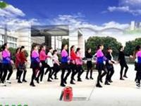四川雪儿广场舞《嗨出你的爱》编舞杨丽萍 团队正背面演示