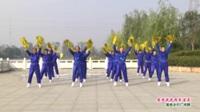 河南省项城市飞马健身队广场舞  爱我就把我追求 表演 团队版