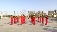 新乡县新梅子广场舞 红红的中国 表演 团队版