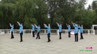 郑州市再青春舞蹈队广场舞《女儿情》表演 团队版