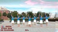 凌寒广场舞  跨越雷池 表演 团队版