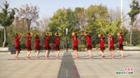 河南省周口市扶沟县俏媳妇舞蹈队广场舞  中国梦 表演 团队版