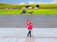 立华广场舞队广场舞《雕花的马鞍》正背面演绎附口令教学 表演 个人版
