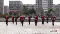 河南省周口市沈丘县东关夕阳红舞队广场舞  雪山姑娘 表演 团队版