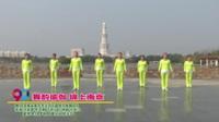河南省周口市川汇区瑜伽拉伸舞蹈队广场舞  舞韵瑜伽 锦上南京 表演 团队版