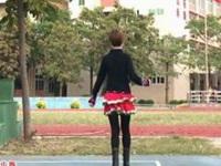 笑春风广场舞《山城之歌》原创入门32步鬼步舞  正背面口令分解动作教学