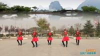 陕西华州小丫赤水社区舞蹈队 雪山姑娘 表演 团队版