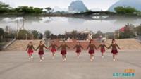陕西华州高塘燕子舞蹈队广场舞 水月亮 表演 团队版