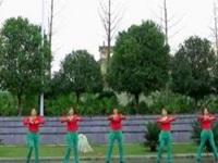 翠屏快乐广场舞《一路有爱》原创舞蹈 附正背面口令分解教学演示
