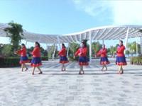 湖南郴州汝城延寿瑶族广场舞队广场舞 盛开的马兰花 表演 团队版