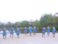 群秀广场舞队广场舞 吉祥藏历年 表演 团队版