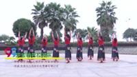 湖南省岳阳瞻岳门舞队 天边的巴拉格宗 表演 团队版