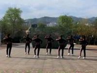 济南糖粉广场舞《没有你在真的很孤单》编舞丽萍老师 正背面演示